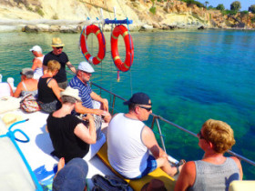 Boat excursions on Crete