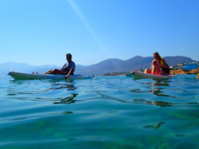 Canoeing on Crete