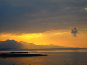 Beautifull sky on Crete