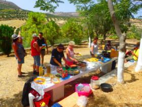 Coockingcourses on Crete Greek Food