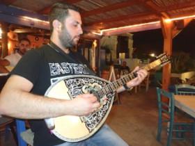Live music on Crete