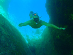 Snorkelling on Crete