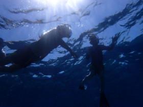 Snorkelling on Crete Greece