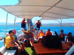 (13) Boat-Excursion-On-Crete-Holiday-Photobook