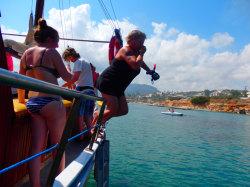 (35) Boat-Excursion-On-Crete-Holiday-Photobook