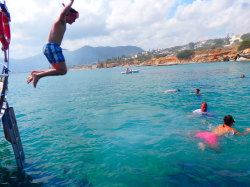 (37) Boat-Excursion-On-Crete-Holiday-Photobook