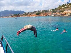 (43) Boat-Excursion-On-Crete-Holiday-Photobook