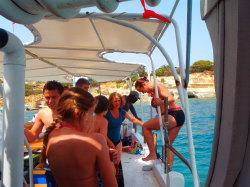 (59) Boat-Excursion-On-Crete-Holiday-Photobook