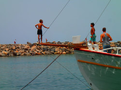 (95) Boat-Excursion-On-Crete-Holiday-Photobook