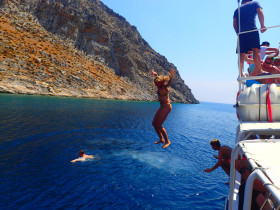 Boat trips and excursions on Crete Greece (80)