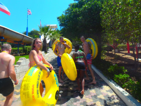Waterpark and wateractivities on Crete Watercity (1)